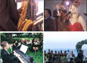 Live Music - Quartets and Bands for weddings and Parties