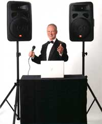 DJ and Master of Ceremonies Eric Zimmermann, Elegant Music