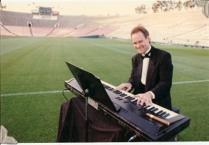 Pianist Eric Zimmermann @ The Rose Bowl Pasadena, CA.