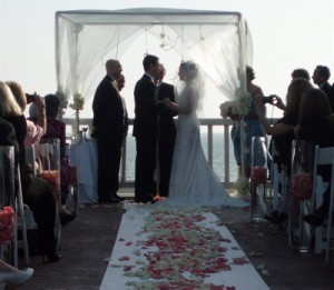 Wedding Ceremony Elegant Music Shutters On The Beach, Santa Monica, CA