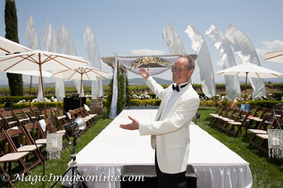 Eric Zimmermann Elegant Music Bridal Fashion Show Master Of Ceremonies