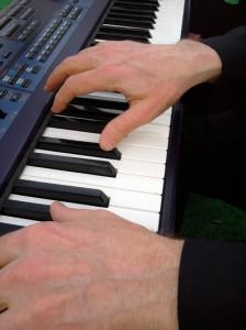 Solo Piano Almansor Court, Alhambra, CA