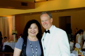 Wedding Coordinator Carol Woo and Eric Zimmermann