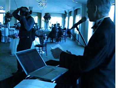 DJ Master of Ceremonies Eric Zimmermann