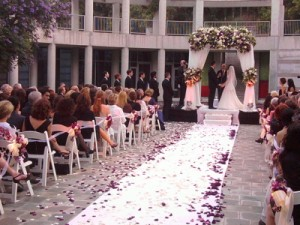 Skirball Cultural Center Wedding Elegant Music Quartet