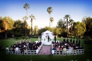 Elegant Music Wedding Ceremony @ Langham Huntington Hotel