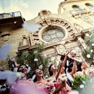 Mission Inn Wedding Ceremony Riverside CA.