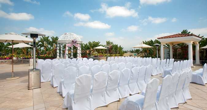 Garden Terrace Wedding San Gabriel Hilton