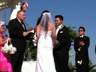 Roof Top Wedding San Gabriel Hilton 2