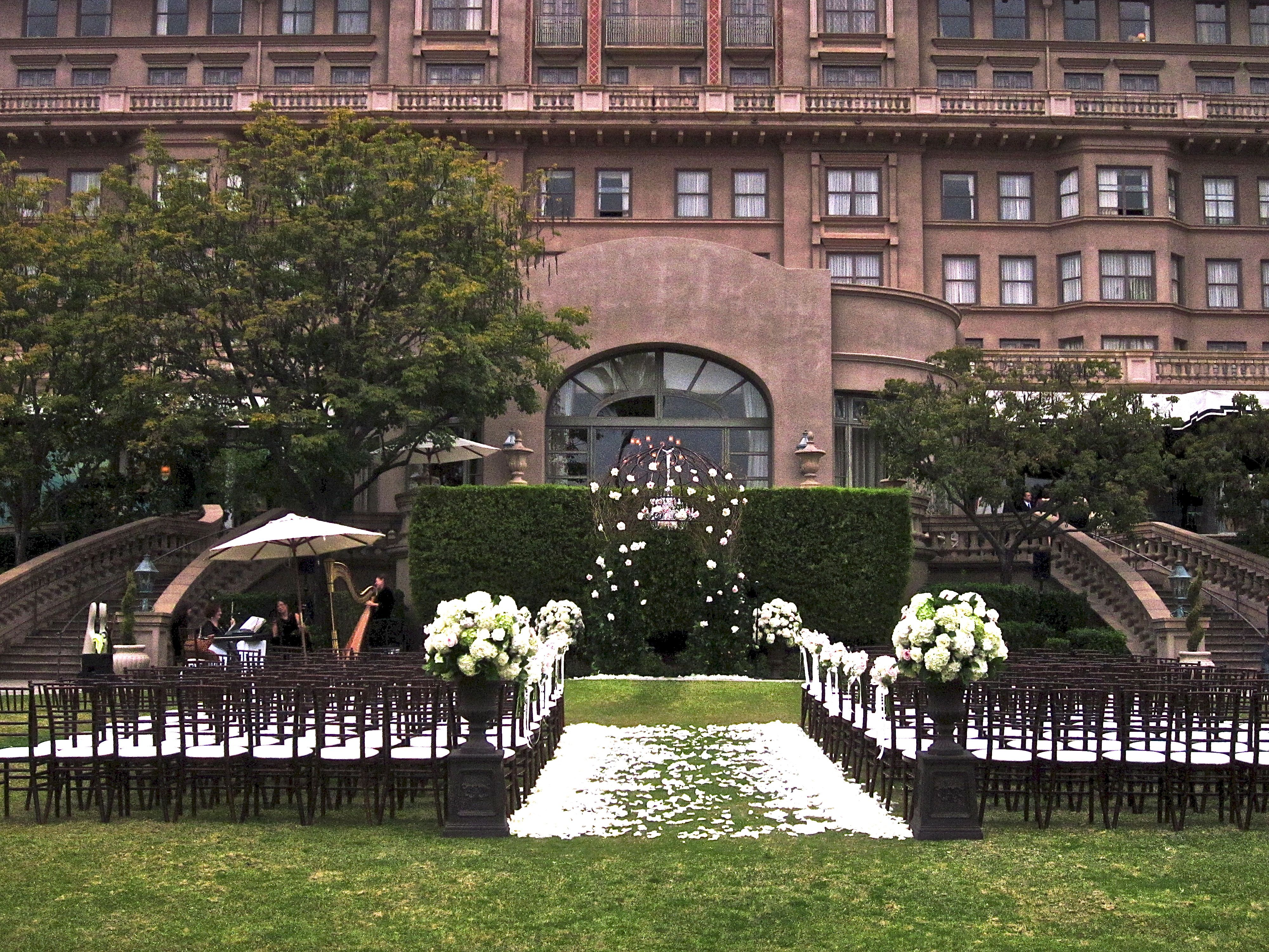 Langham Hotel Wedding Ceremony