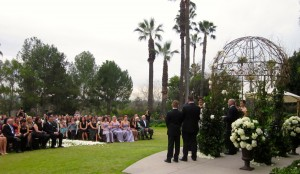 Wedding Ceremony @ The Langham Pasadena, CA
