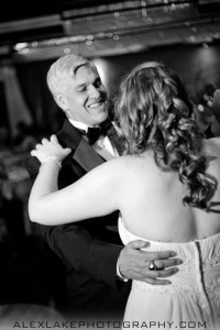 Father Daughter Dance B&W