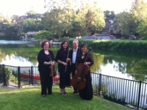 Elegant Music Quartet Lake Side 2