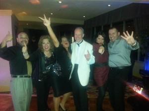 New Year's Eve 2014 Revelers @ Long Beach Airport Holiday Inn