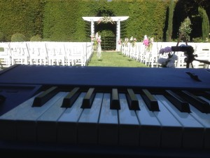 Altadena Country Club Wedding Ceremony
