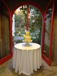 Cake @ Clarke Estate Wedding Reception