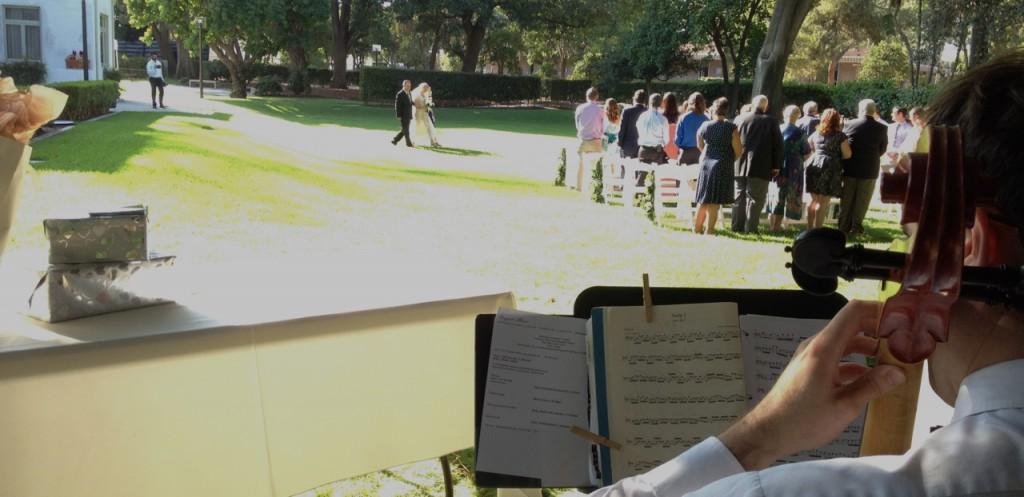 Clarke Estate Wedding Ceremony Elegant Music