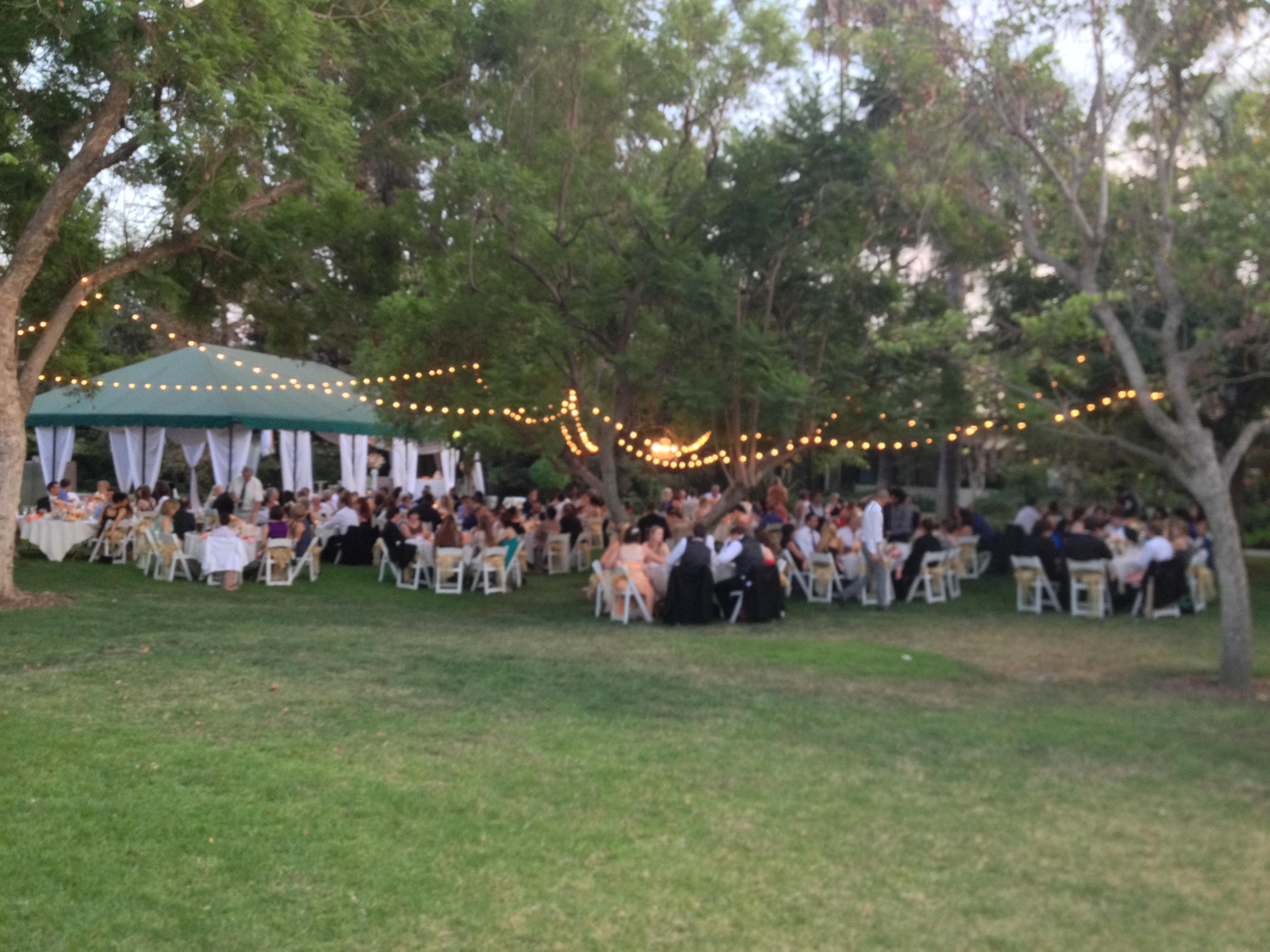 Beautiful Wedding Pickwick Gardens Elegant Music