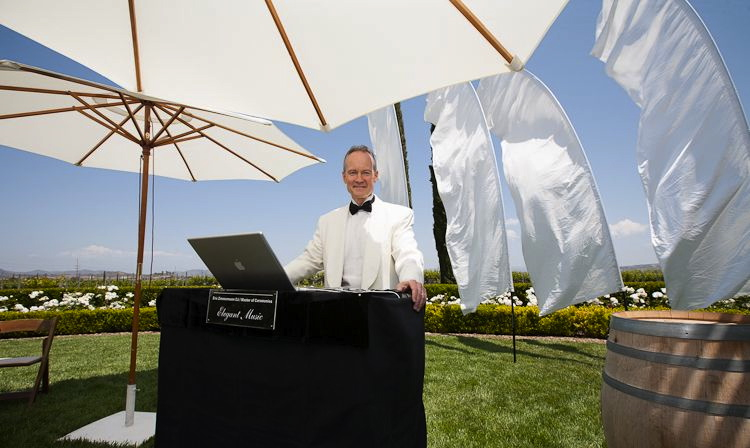 DJ and Master of Ceremonies Eric Zimmermann Elegant Music