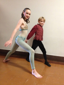 Sara and Lance Zimmermann Dance in the 2014 production of The Legend of Jack Frost @ Glendale College