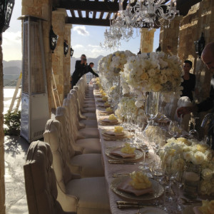 Rocky Oaks Wedding Reception Design by Aquafuzion