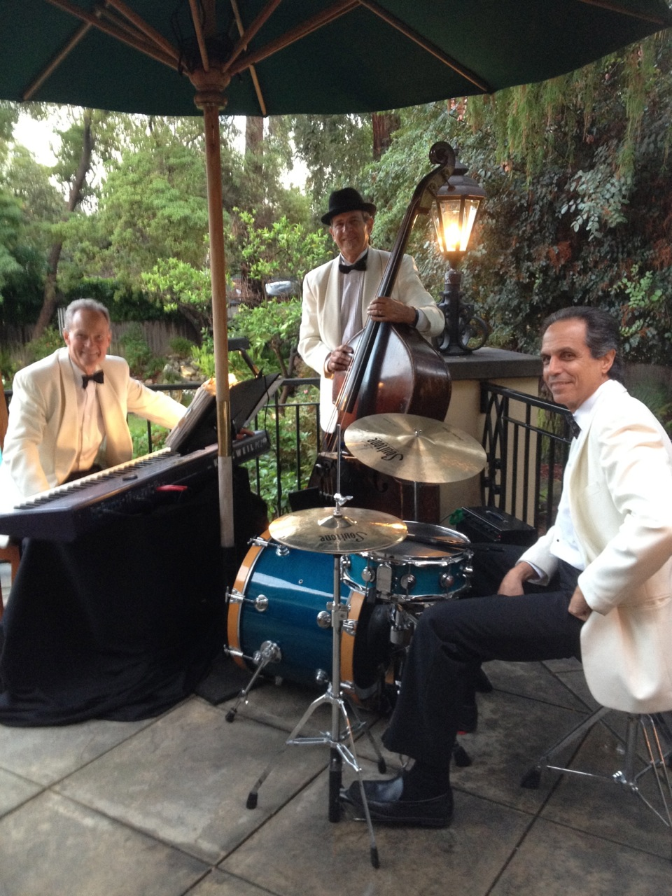 IMG 3921 Elegant Music Jazz Trio Plays Backyard Party