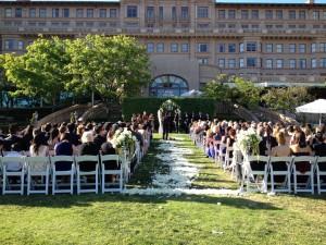 Horse Shoe Garden, Langham Huntington Hotel Pasadena, CA.