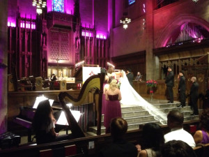 Wedding Ceremony @ First Congregational Church of Los Angeles