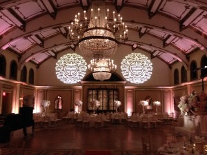 Georgian Ballroom of the Langham Huntington Hotel Pasadena, California