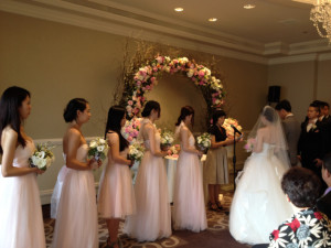 Ritz-Carlton Laguna Niguel Wedding Ceremony conducted by Sherrien Shui.