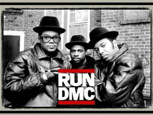 Believe it or not Run DMC is an 80s Band!