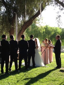 Wedding Ceremony @ Hummingbird's Nest Ranch Santa Susana, CA.