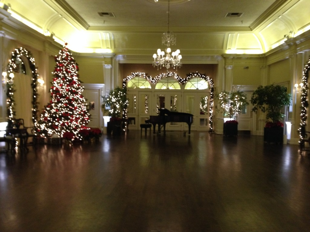 Ballroom with Steinway Grand Piano