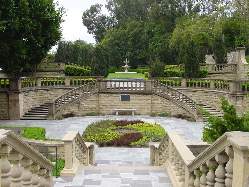 Greystone Mansion Formal Garden