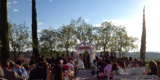 Wedding Ceremony @ Faulkner Winery Temecula, CA