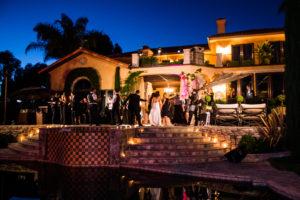 Wedding Reception Dancers @ Villa Sancti Di Bella Vista Malibu, California