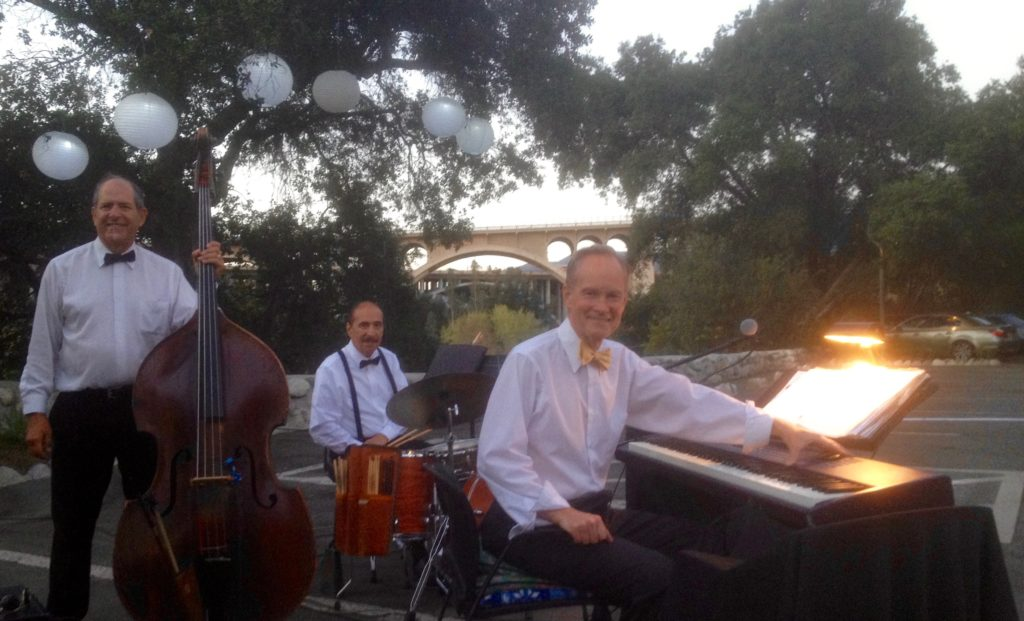 Elegant Music Jazz Trio @ La Casita del Arroyo Pasadena, CA. Pasadena Garden Club Centennial Celebration
