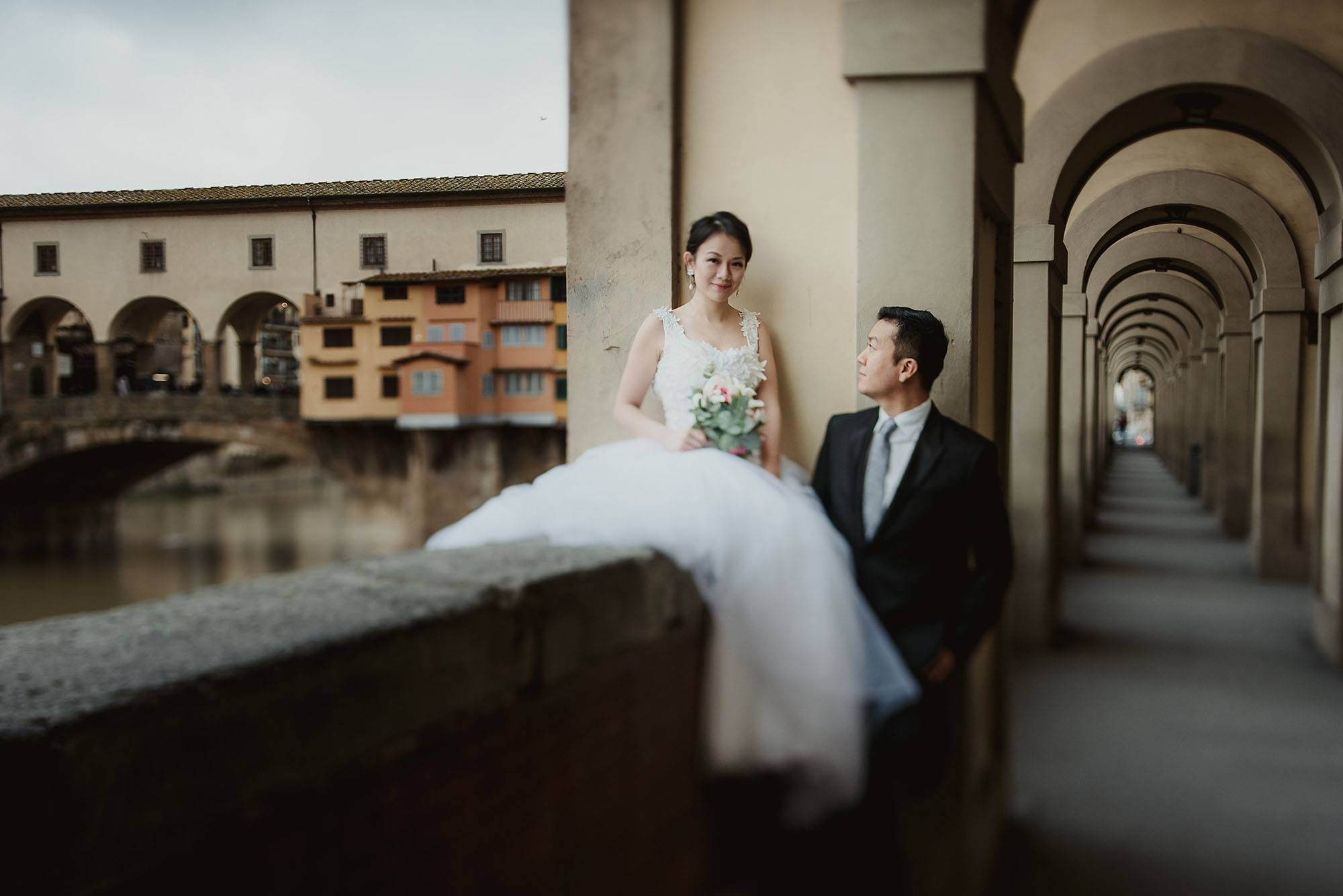 Pre Wedding Photo Shoot Peter And Paris In Florence Italy