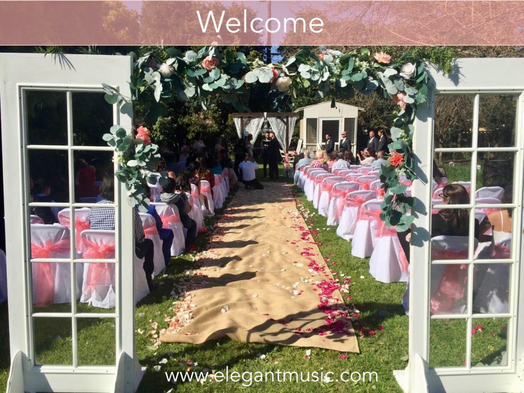 Backyard Wedding Ideas.Backyard Wedding Checklist You Can Do This Elegant Music