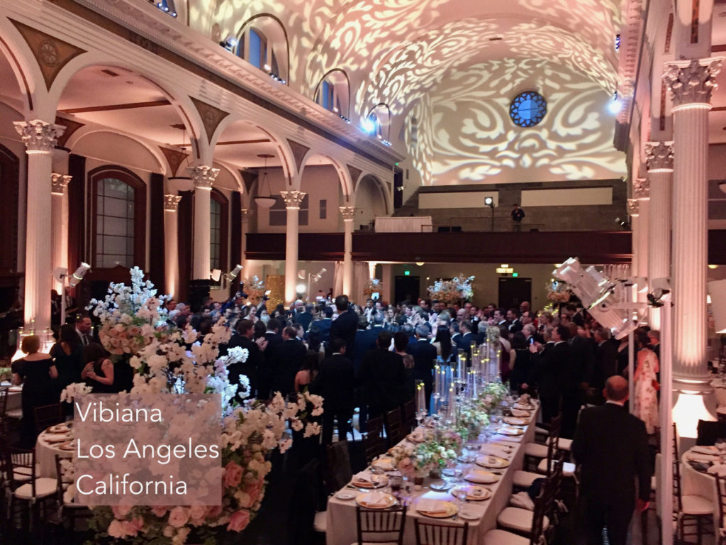 Wedding Reception Vibiana Los Angeles