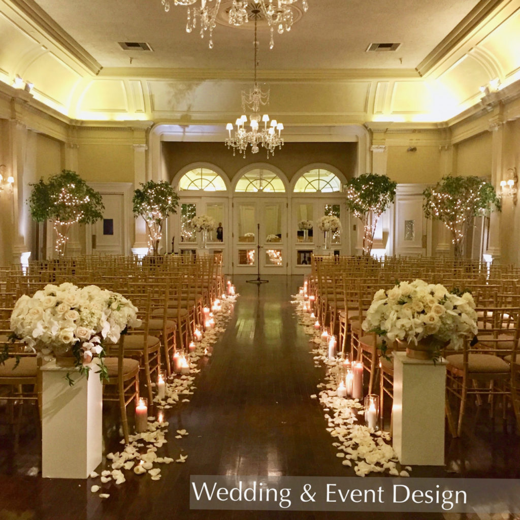 Wedding Ceremony Design Pasadena